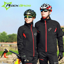 Rockbros Winter Men Women Cycling Jerseys Windproof Thermal Bike Bicycle Jacket MTB Mountain Road Sport Clothing Ropa Ciclismo
