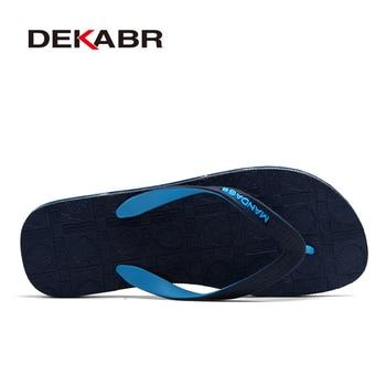 DEKABR Men Summer Slippers Beach Flip Flops Designer Fashion Comfortable Male Chaussures Zapatillas masculinas 1