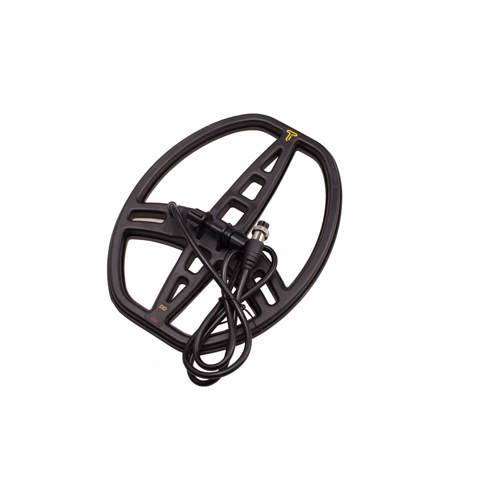 ACE350 Metal Detector <font><b>MD6350</b></font> ACE400I Search Coil 8.3x11'' Underground Metal Detector Treasure Finder Waterproof Search Coil image