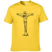 Christian T Shirt JESUS On The Cross