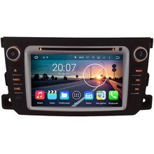 Android 7.1.2 WIFI Quad Core GPS Navigation System Car Media Stereo player radio for Benz Smart Fortwo 2011-2014