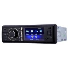 320 3 дюймов Аудиомагнитолы автомобильные стерео Bluetooth dvd-плеер Hands-Free с Дистанционное управление 12 В Аудиомагнитолы автомобильные автомобиль электронные с сзади камера