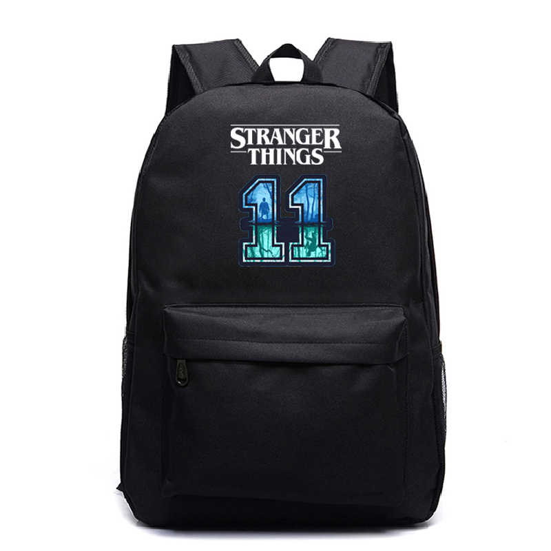 Boys Girls Stranger Things School Backpack Casual Printing Laptop Backpack Teens Backpacks