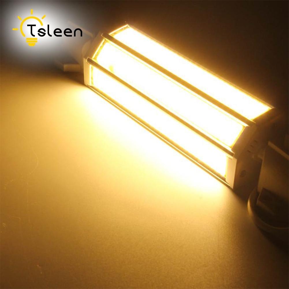 R7S LED Diode Bombillas 78 118 135 189 mm High Lumne No Flicker COB 220V 9W 13W 15W 20W R7S Ampoule Led Spotlight Lamp