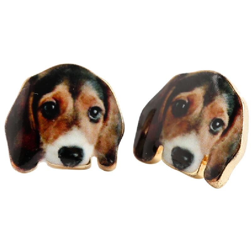 Jisensp 2017 New Arrival Lovely Beagle Dog Stud Earrings for Women Party Earrings Gift OED053 ...