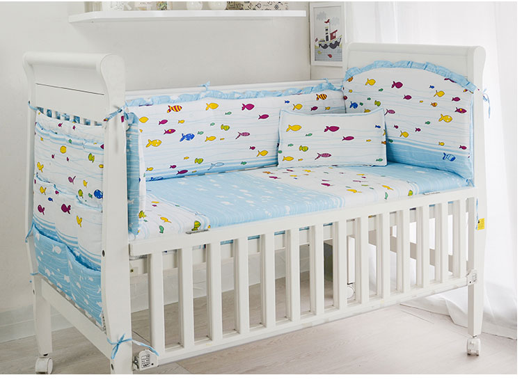 Promotion! 6/7PCS Baby Crib Bedding Set Quilt Cover Bumper Bed Baby Bedding set,Duvet Cover ,120*60/120*70cm promotion 6 7pcs baby bedding kit baby bedding set piece baby bed around 100% cotton sheets duvet cover 120 60 120 70cm