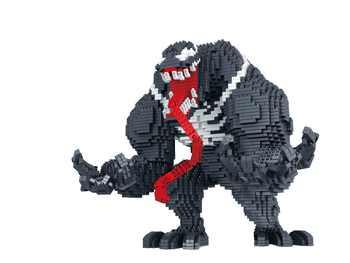 Kennie New Arrive Personal DIYHerose Venom model diamond Blocks building toys Action Figure for children gifts