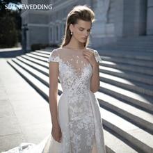 SIJANEWEDDING SIJANE Wedding Dress Detachable