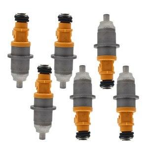 6 inyector de combustible apto para 03-up 60V-13761-00-00 Yamaha Outboard HPDI 250 300HP