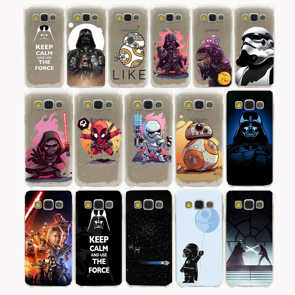 Star Wars Hard Case for Samsung Galaxy A3 A5 J3 J5 J7 2015 2016 Note 5 4 3 2 Grand 2 J3 J5 Prime cover