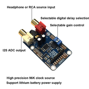 Image 2 - Lusya lossless digital audio I2S ADC decoder Support 24bit 96K I2S Signal output A1 003