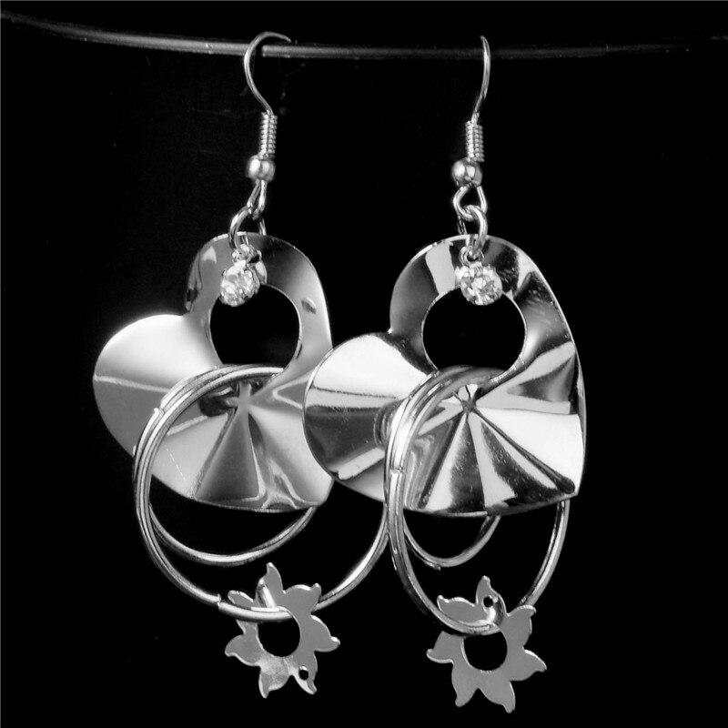 TRENDY Gold Filled Opal Women Jewelry Dangle Cadeau Anniversaire Pendants d/'oreilles Nouveau