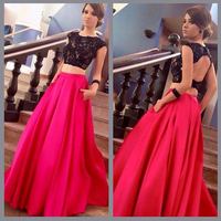 Newest A Line Satin Long Skirts Solid Formal Party Skirts Floor Length Women Skirts Without Top Custom Made