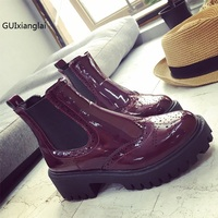 Rubber Boots 2016 Fashion Waterproof Trendy Jelly Women Ankle Rain Boot Elastic Band Solid Color Rainy