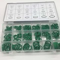 Green O Rings 18 Kinds Size Kit Air Conditioning Car Auto Vehicle Repair 270 Pieces/Pack
