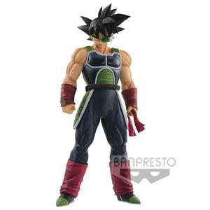 Image 2 - Оригинальная фигурка Tronzo 28 см Banpresto, Dragon Ball, Grandista ROS GROS, разрешение солдат, лопуха, ПВХ фигурка, модель игрушек