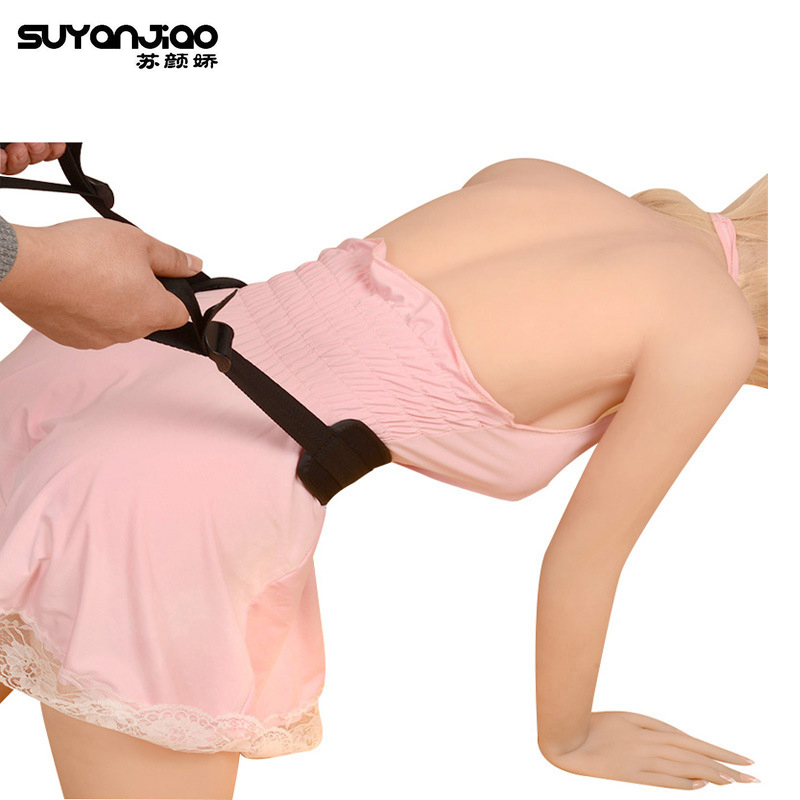 Doggie Style Strap Great Penetration Adult Kinky Fun Exciting Positioning Nylon Sponge Waist Restraints Sex Position Play Belt