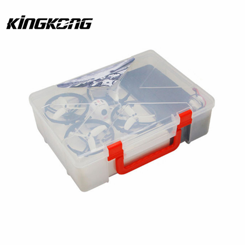 Kingkong Box Handbag Carrying Case Suitcase For ET Series ET100 ET115 ET125 Micro FPV Camera Drone RC Quadcopter DIY Part