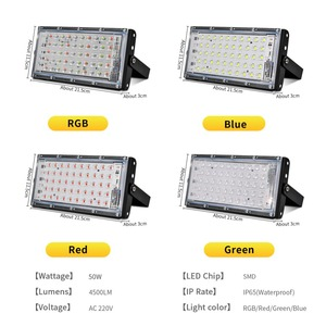 Image 3 - Led Flutlicht 50W Spotlight Park Beleuchtung Outdoor Led straßenleuchte AC 220V 240V Wasserdichte IP65