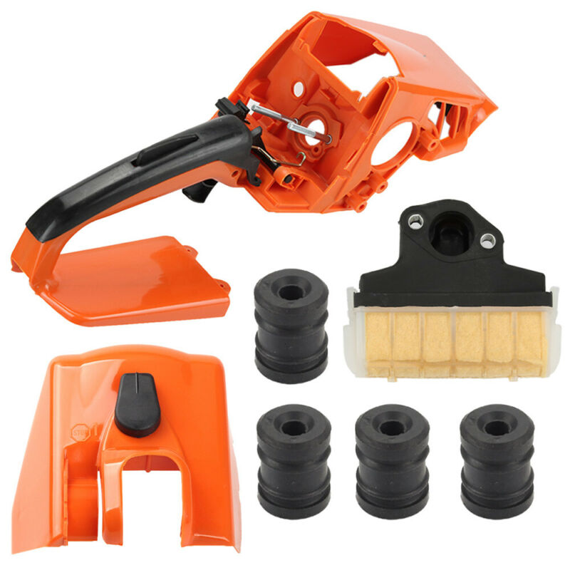 High Quality Rear Handle Cylinder Cover Air Filter Set For Stihl MS210 MS230 MS250 Chainsaw Chain Replacement Parts