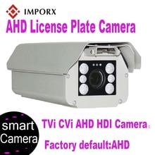IMPORX Smart AHD Licence Plate Camera 1080P HD IR Night Vision 2MP ONVIF LPR ANPR Car Number Recording With 6-22mm