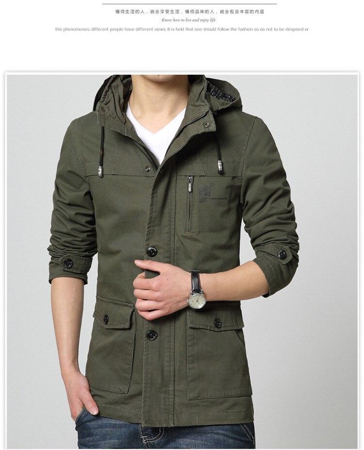 en pies tiros de color rápido ahorre hasta 80% Verde del ejército chaqueta con capucha para hombre de manga ...
