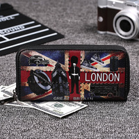 Men S Purse PU Leather Luxury Design Mens Wallets With Cell Phone Pocket And Business Card