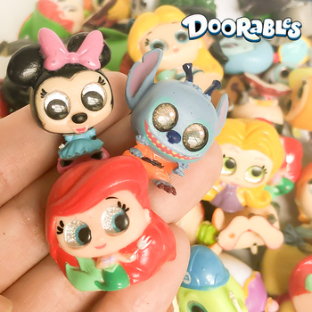 Doorables Random 10PCS/LOT Series 1 & 2 Princess Doll Rare Collection Kid Toy MINI SIZE  Y19060401