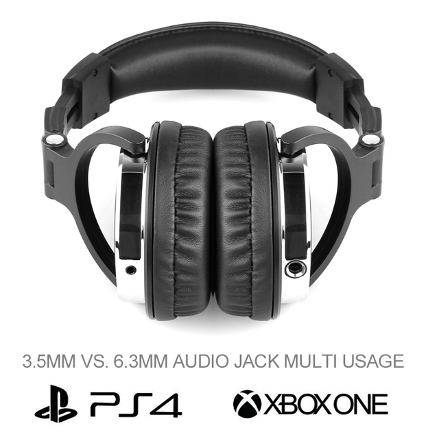 Oneodio Headphones Over-Ear Hifi Studio DJ Headphone Wired Monitor Music Gaming Headset Earphone For Phone Computer PC With Mic