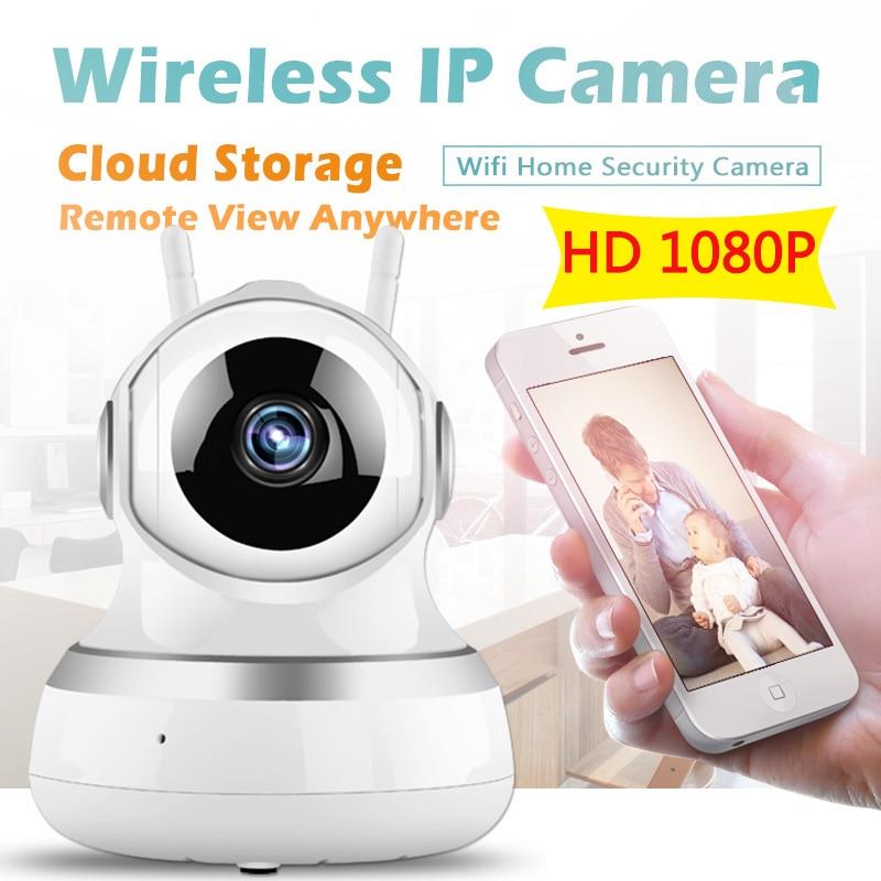 bilder für 1080 P WIFI Ip-kamera Drahtlose Überwachungs Sicherheit Video Kamera Cloud-Storage Sound Bewegungserkennung Sensor Babyphone IR PTZ