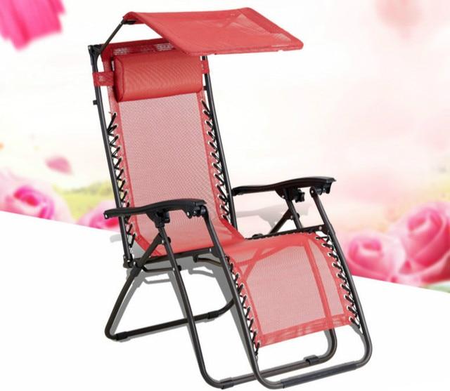 Folding recliner nip chairs summer outdoor beach chair