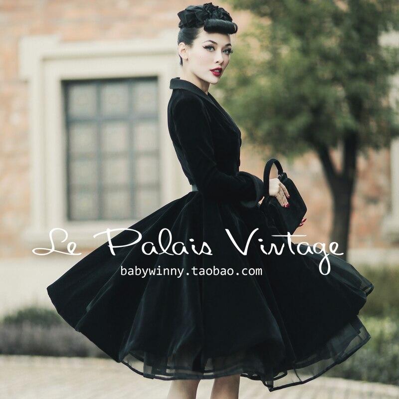 Féminin Manteau Cru Velours Casaco Col Palais Noir Abrigos Mujer Tranchée La 40 50 S Taille Manteaux Black Swing Plus Châle Élégant le xnYPESFR