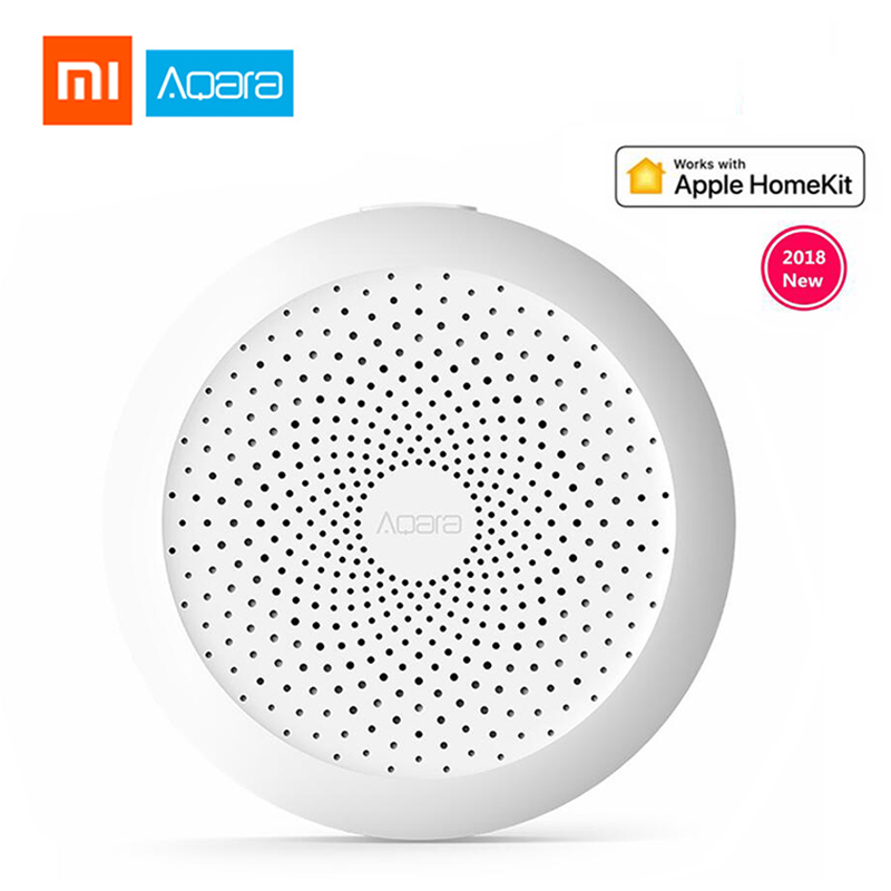 2018 Xiaomi Aqara Hub Gateway With RGB Led Night Light Smart Work With Apple Homekit Aqara