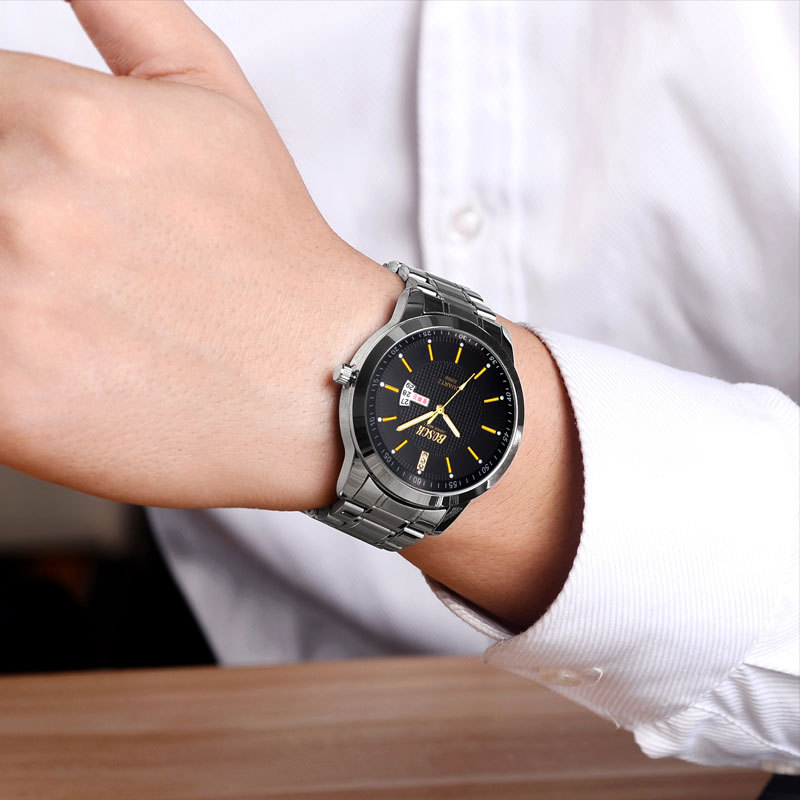 2018 New Fashion Curren Luxury Brand Man quartz full stainless steel Watch Casual Military Sport Men Dress