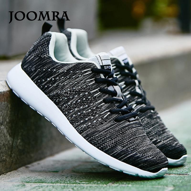 7ed92166af964 Joomra hombres zapatillas Zapatillas Zapatos ligeros zapatillas de deporte  de malla transpirable deportes Jogging zapatos calzado