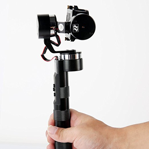 цена на ZhiYun Z1-PRO Handheld 3-Axis Gimbal Sports Action Camera Stabilizer Gyro for GoPro 3 3+ 4