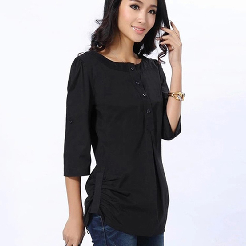 Black Blouse Ladies - Breeze Clothing