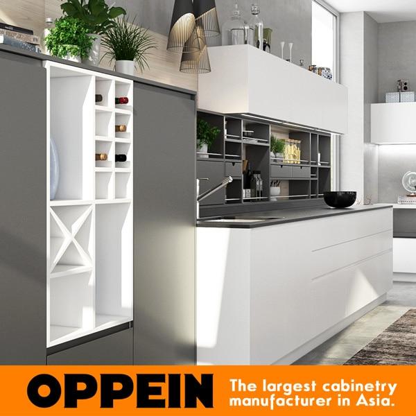 Hot küchenschrank weiß Lackiert kunden gemacht küchenfront Blum ...