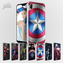 Captain America for Cases Huawei P20 P20 Pro P20 lite P Smart  Case for Huawei NOVA 3 3i for Honor 9 lite 8 9 10 6A 6X 7X  Case