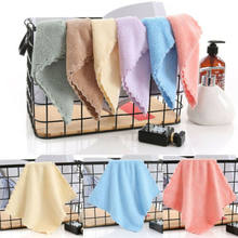 Arrival Soft 100% Cotton Absorbent Terry Luxury Hand Bath Beach Face Sheet Towel Home Soft Solid Mini Cleaning Face Hair Towel(China)