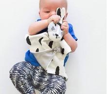 Baby Sleeping Appease Kids Bibs Blanket Toddler Baby Toys Cotton Bib Bedding Toy Rabbit&Kitten Dolls Bebe Apaziguar telo mare