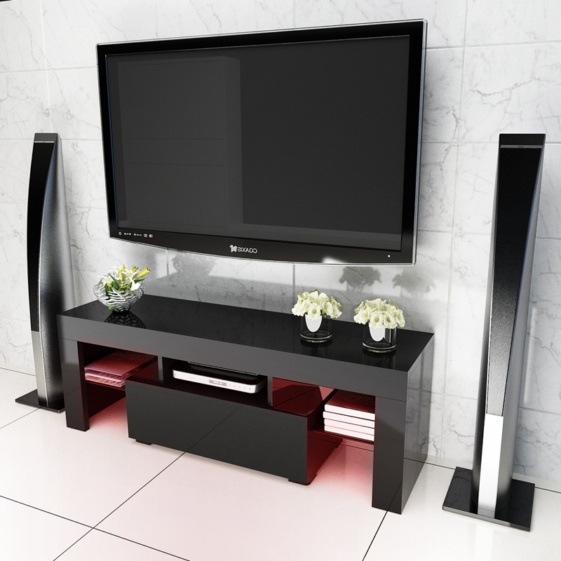 Led Tv Stand High Gloss Tv Cabinet Modern Living Room Furniture