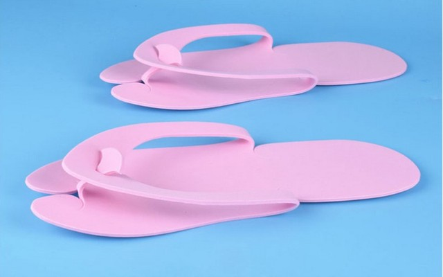 f39005b83 12 36 Pairs Anti-skidding Disposable Flip Flop EVA Foam Slippers for  Pedicure Bath