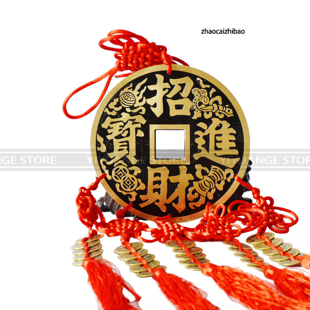 Fengshui Chinese Knot Good Luck Charm Chinese Ancient Coins