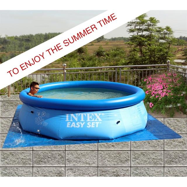 Großen außen kind sommer lernen schwimmen erwachsenen aufblasbaren ...