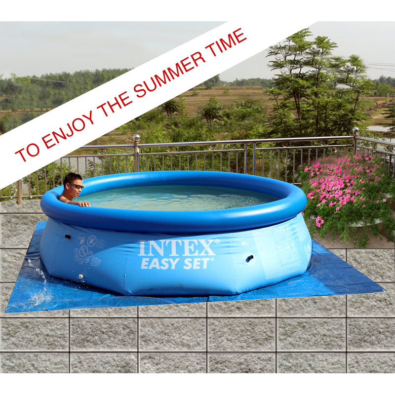 Big outdoor child summer learning swimming adult for Best rated inflatable swimming pool