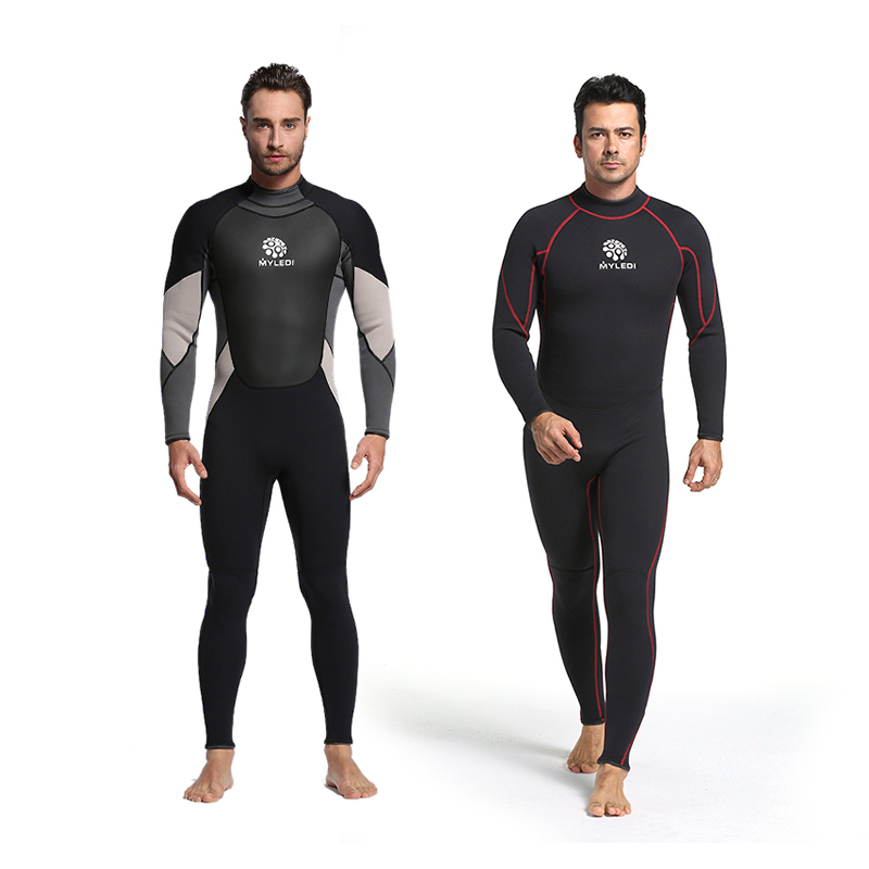 LIFURIOUS 3MM Men Diving Suit Full Body Surfing Neoprene Wetsuits Keep Warm Rash Guards Spearfishing Jumpsuit Swimming Equipment sbart 3mm neoprene wetsuit men surfing diving suit full body diving wetsuits for men swimming equipment spearfishing jumpsuit j