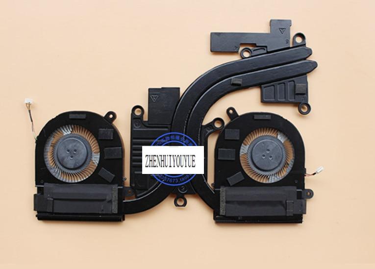 new for Lenovo YOGA 720-15IKB 80X7 HEATSINK fan lenovo yoga 720 15ikb grey 80x70035rk