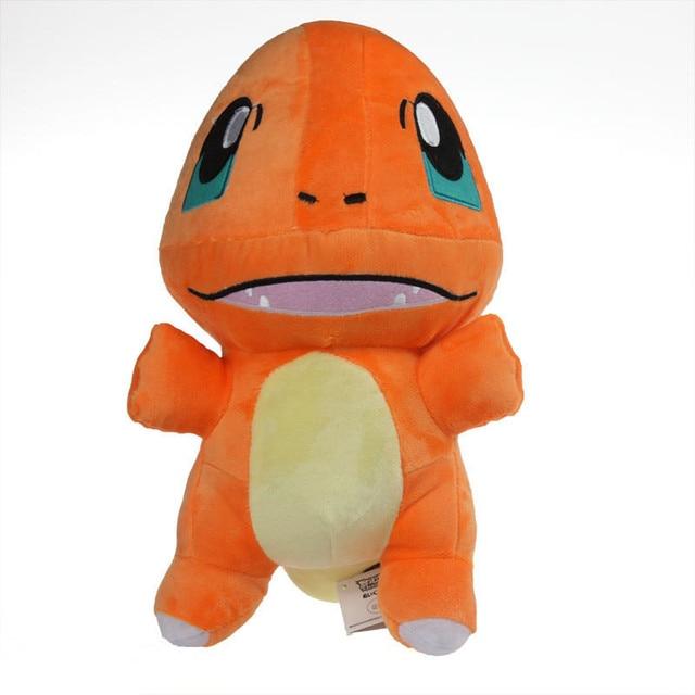 33cm Japanese Cartoon Pokemon Charmander Plush Doll Toy 13 Inch Glumanda Plush Toys Stuffed Dolls for Xmas Gifts Free Shipping