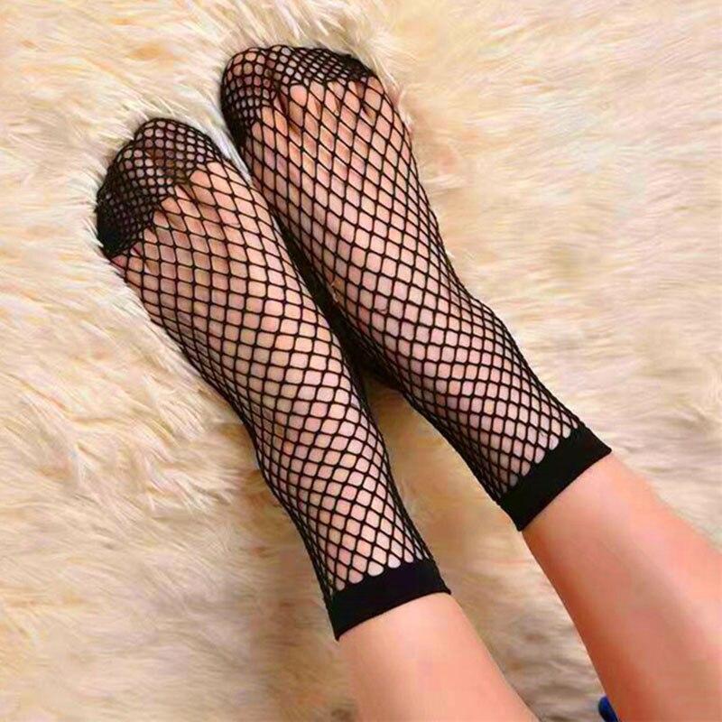 Sexy girls in fishnet stockings